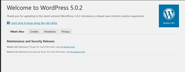 WP 5.0.2